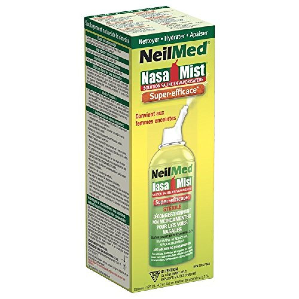 NeilMed NasaMist Hypertonic Saline Spray 125ml
