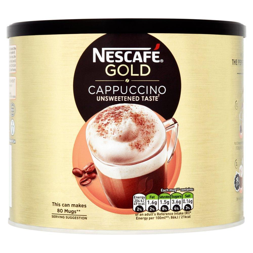 Nescafe Gold Unsweetened Taste Cappuccino 1kg