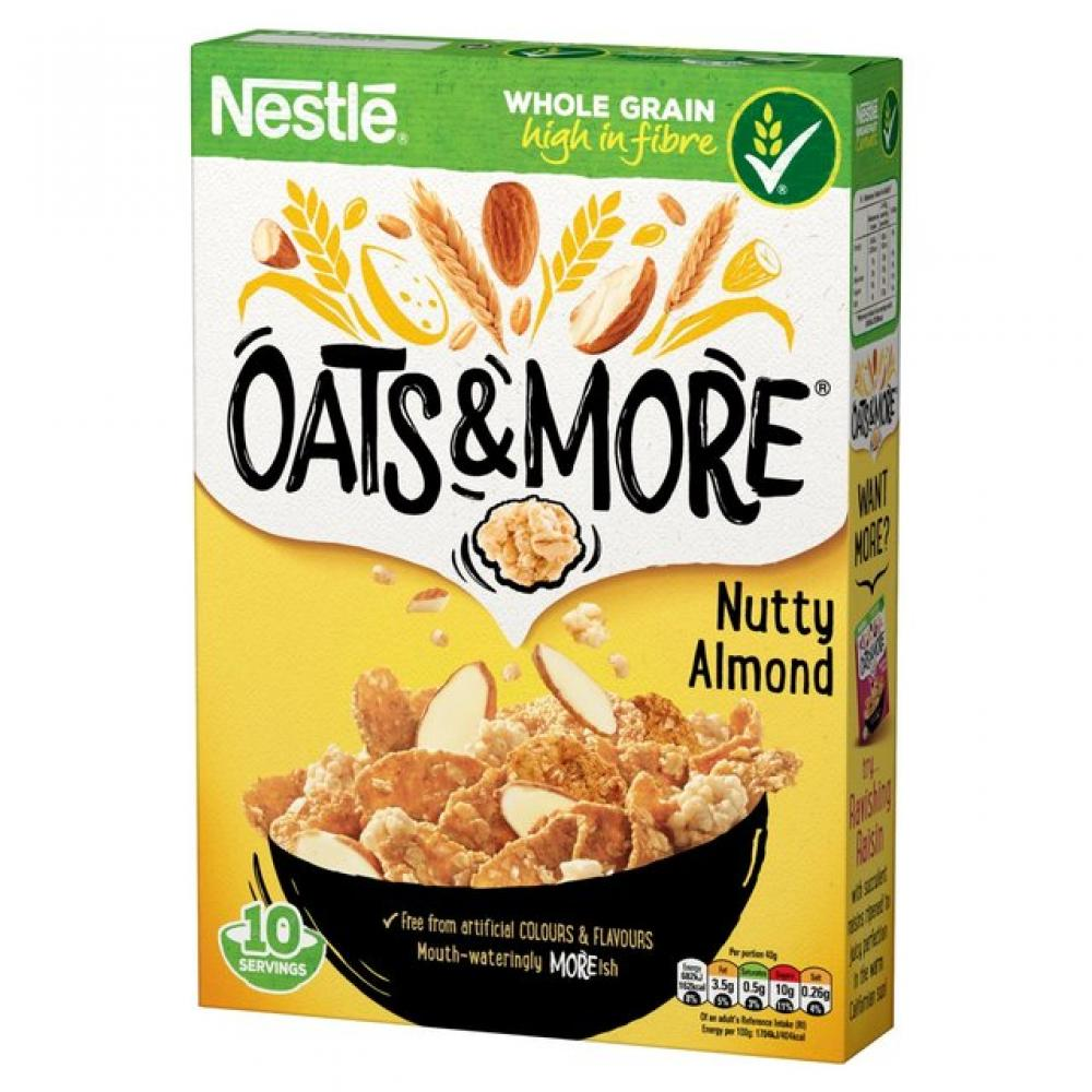 Nestle Almond Oats and More 425g