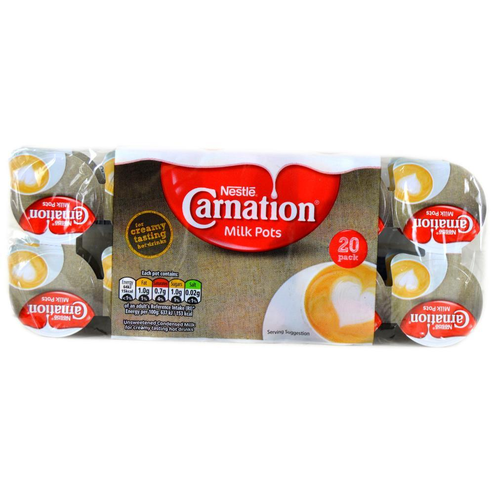 Nestle Carnation Milk Pots 20 pack