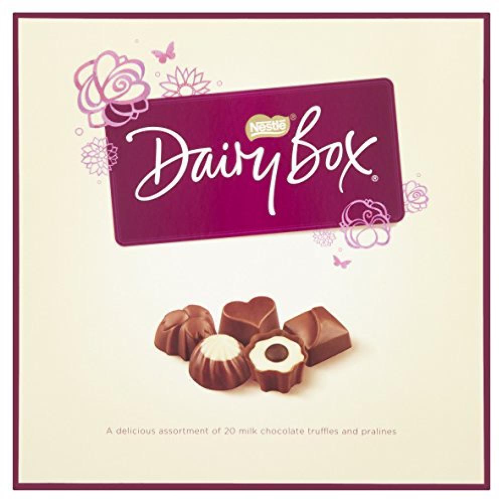 Nestle Dairy Box Chocolate Bonbons Cartons 180 g