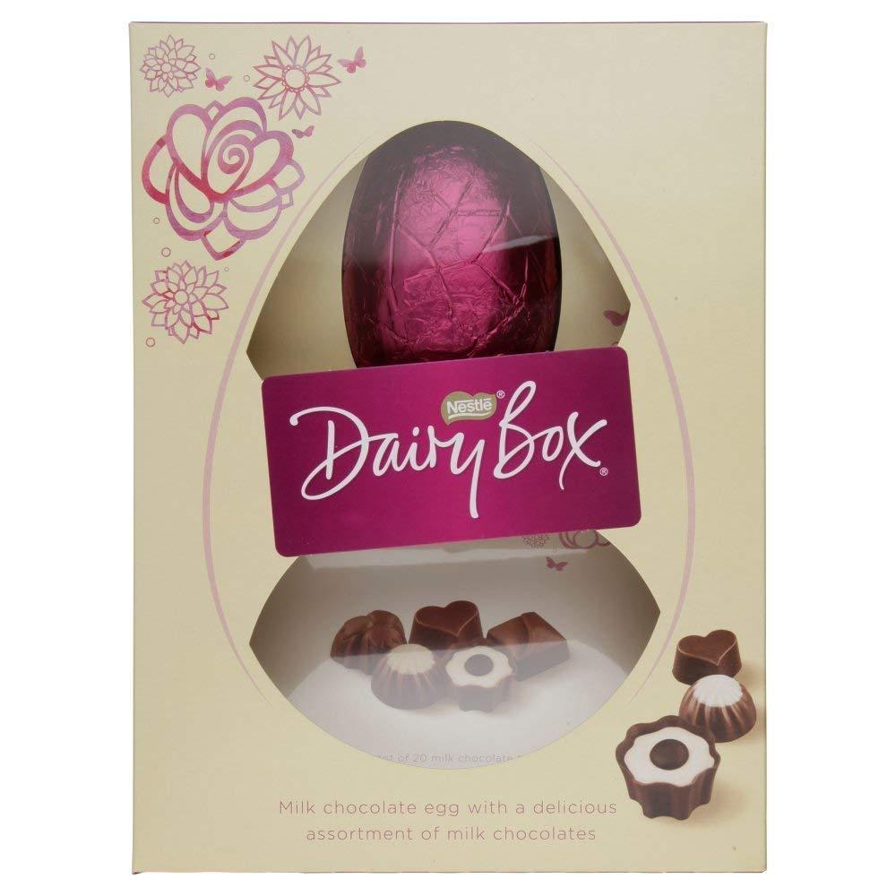 Nestle Dairy Box Chocolate Premium Egg 380g