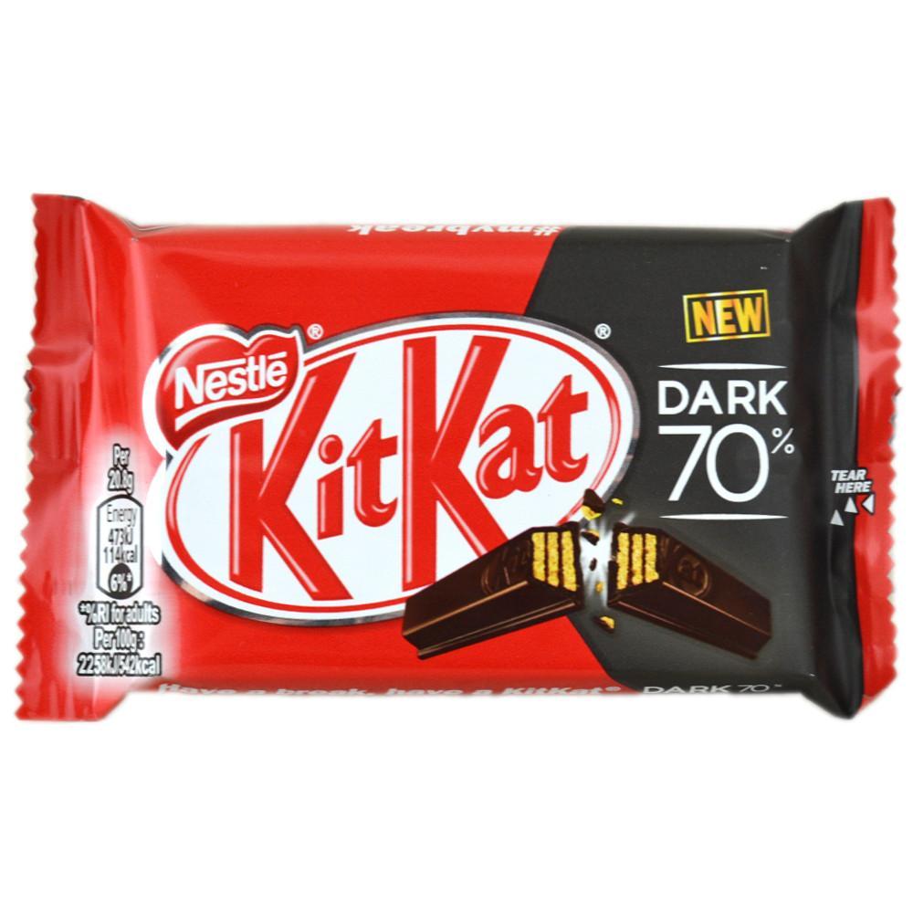 Nestle KitKat Dark Four Finger Bar 41.5g