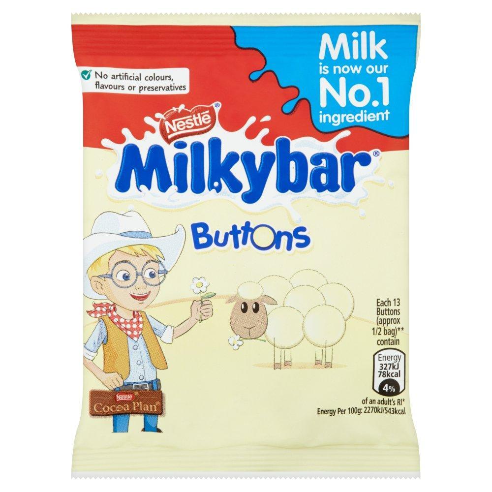 Nestle Milkybar Buttons 30g