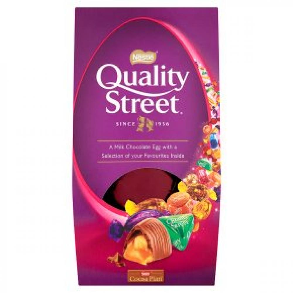 Nestle Quality Street Insider Chocolate Egg 275 g