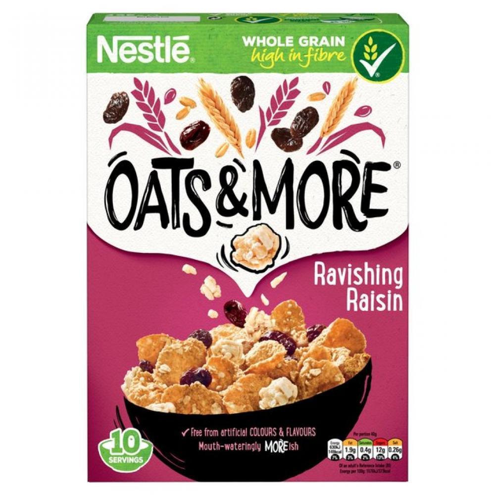 Nestle Raisin Oats and More 425g
