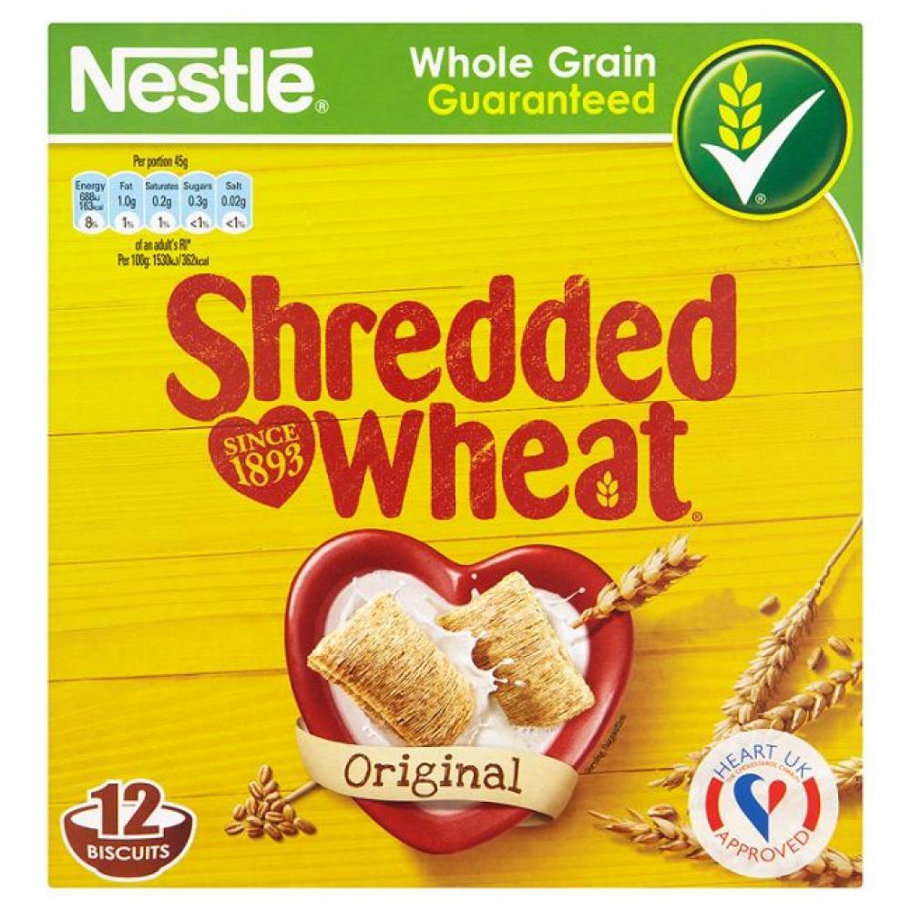 Nestle Shredded Wheat Original 270g