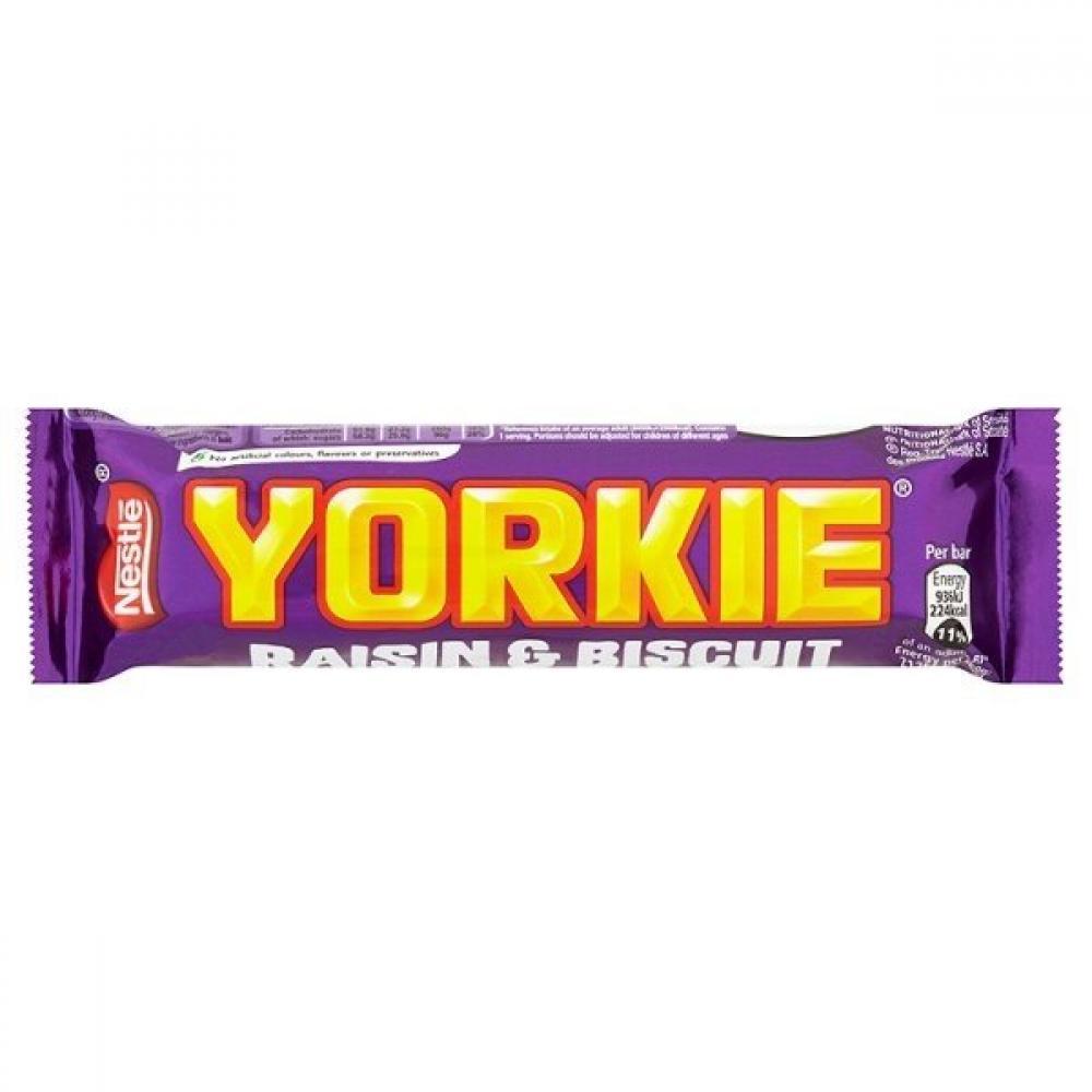 Nestle Yorkie Raisin And Biscuit Bar 44g