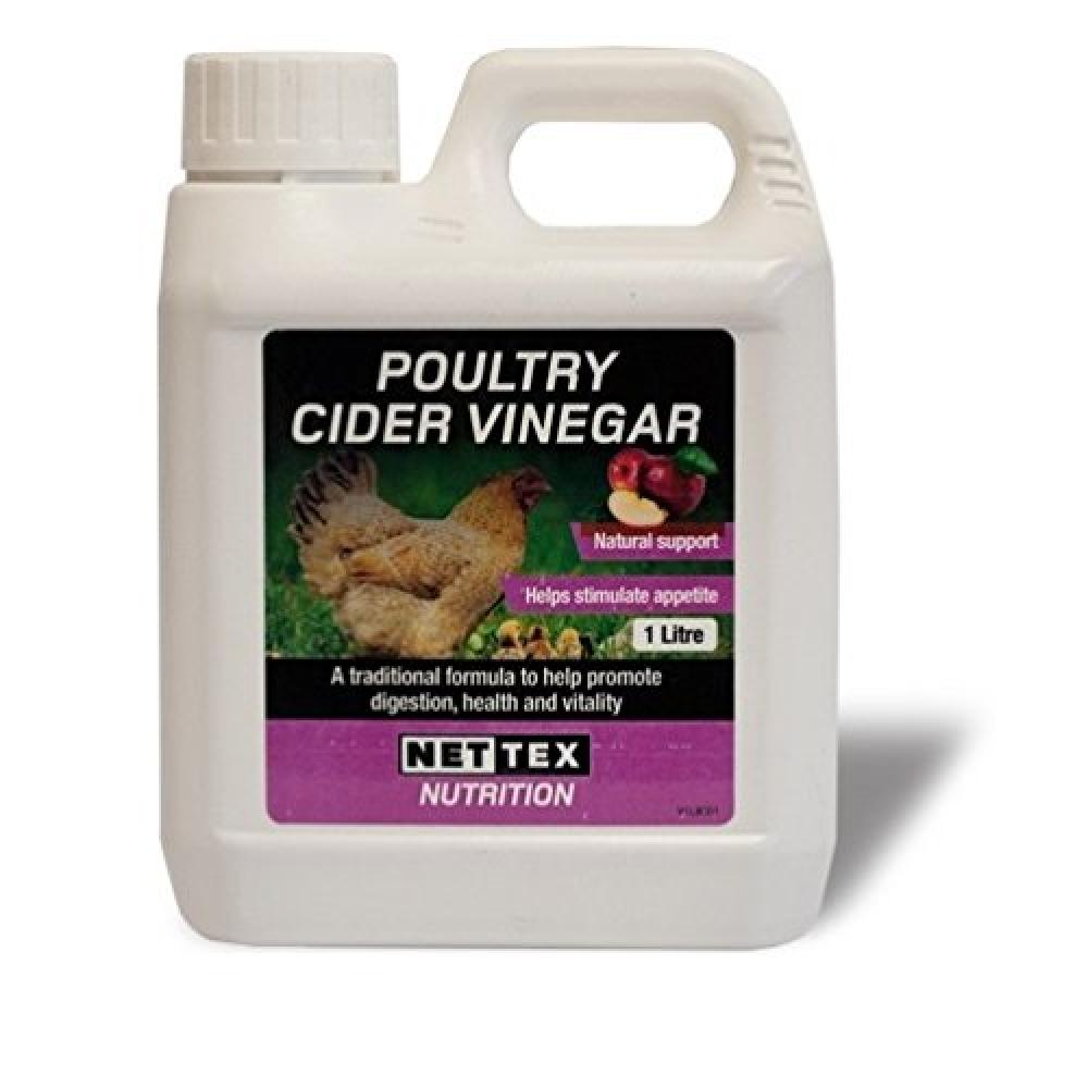 Net Tex Poultry Cider Vinegar 1L