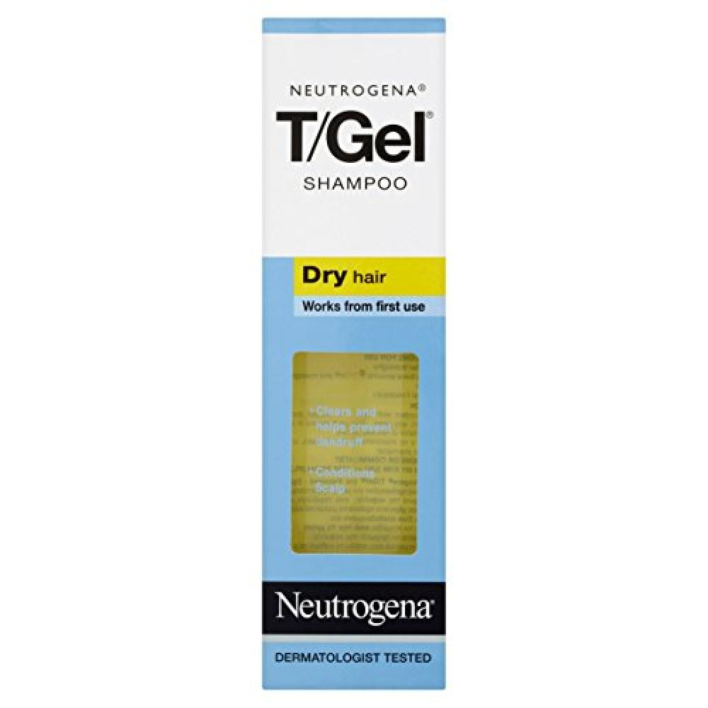 Neutrogena TGel Shampoo for Dry Hair 125 ml