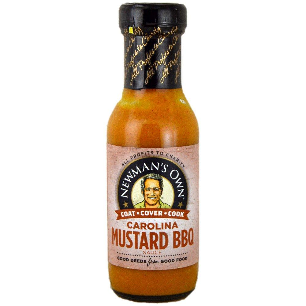 Newmans Own Carolina Mustard BBQ Sauce 250ml