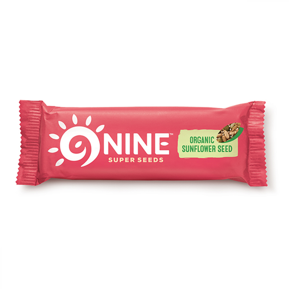 Ninebar Organic Sunflower Seed Super Seeds 40g