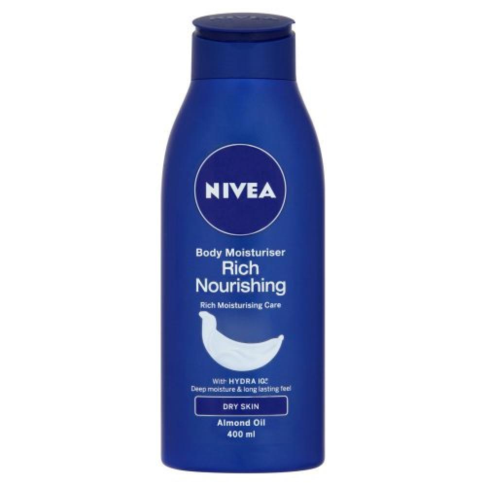 Nivea Rich Nourishing Body Moisturiser 400 ml