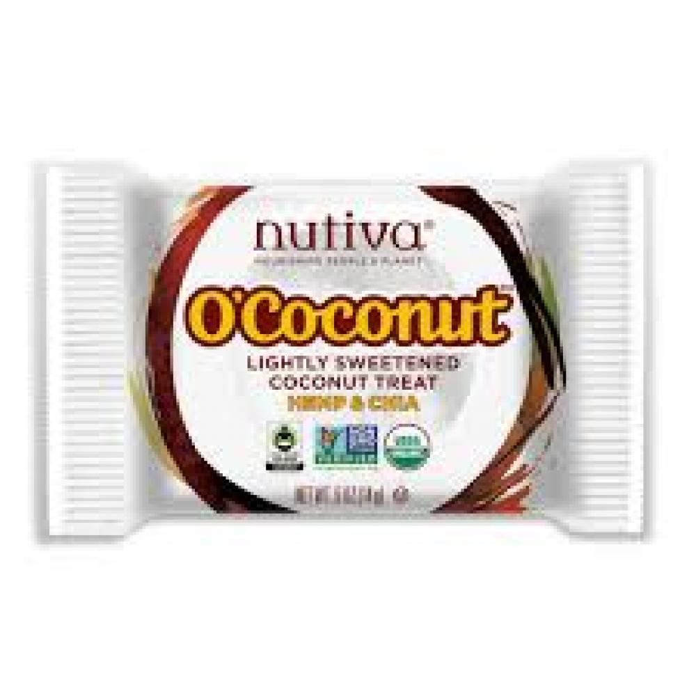 Nutiva Coconut Treat Hemp and Chia 14g