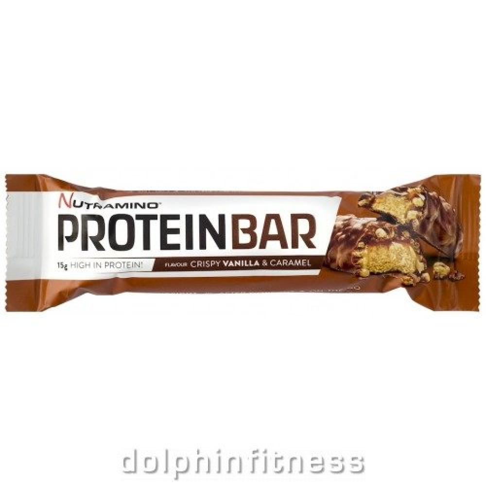 Nutramino Crispy Vanilla And Caramel Bar 48g