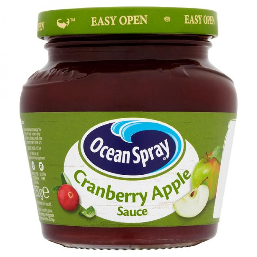 Ocean Spray Cranberry and Apple Sauce 250g
