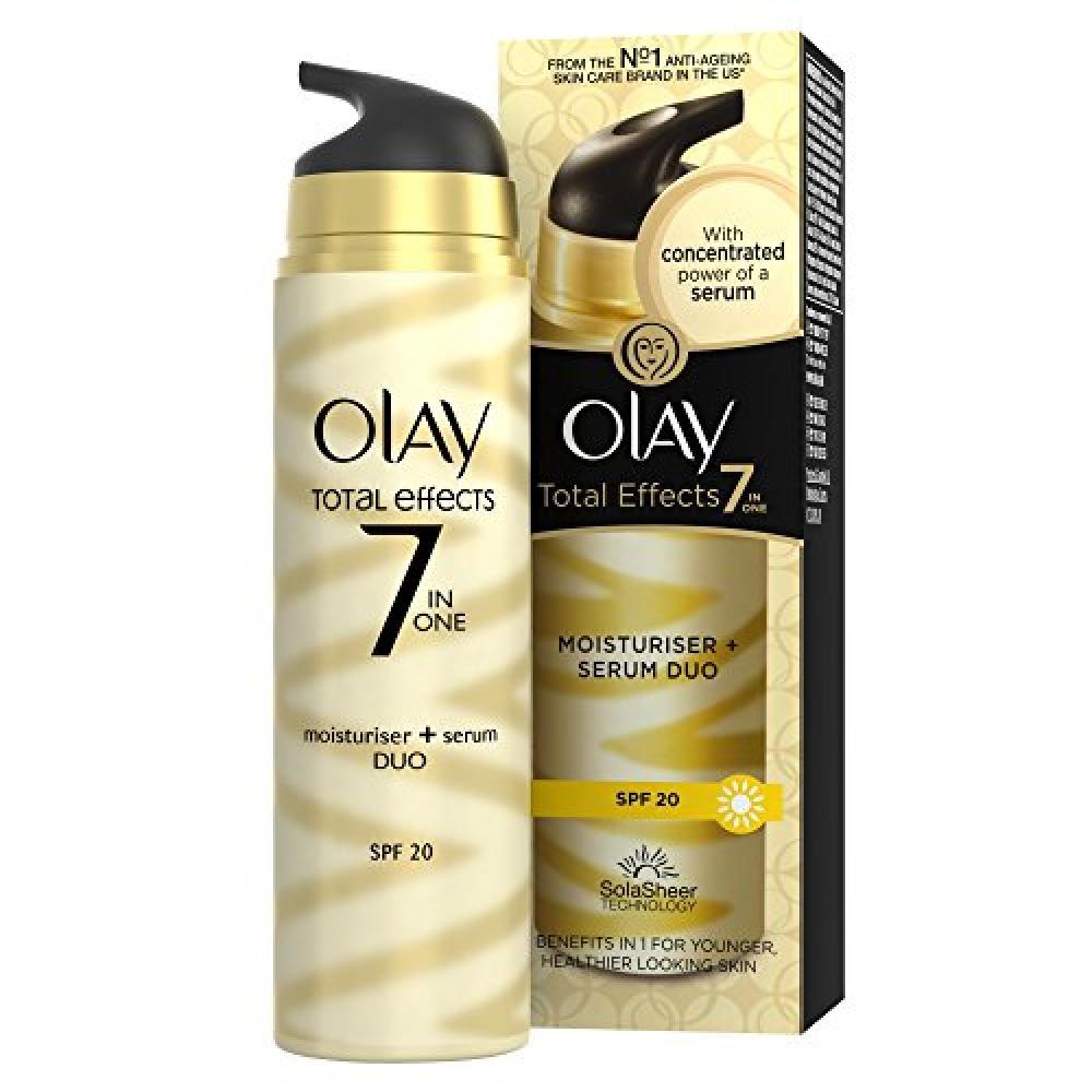 Olay Total Effects 7-in-1 Moisturiser Serum Duo SPF 20 40ml