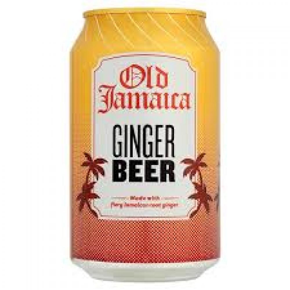 Old Jamaica Ginger Beer Soft Drinks 330ml