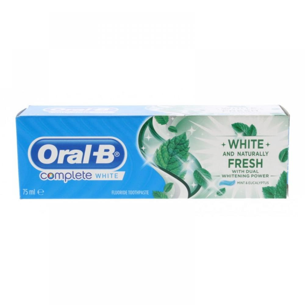 Oral B Complete White Mint And Eucalyptus 75ml