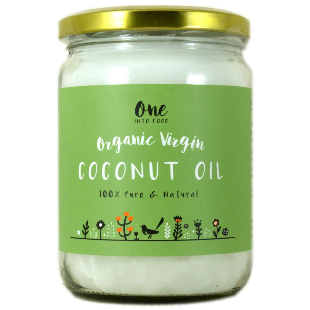 One Into Food Organic Virgin Coconut Oil 500ml
