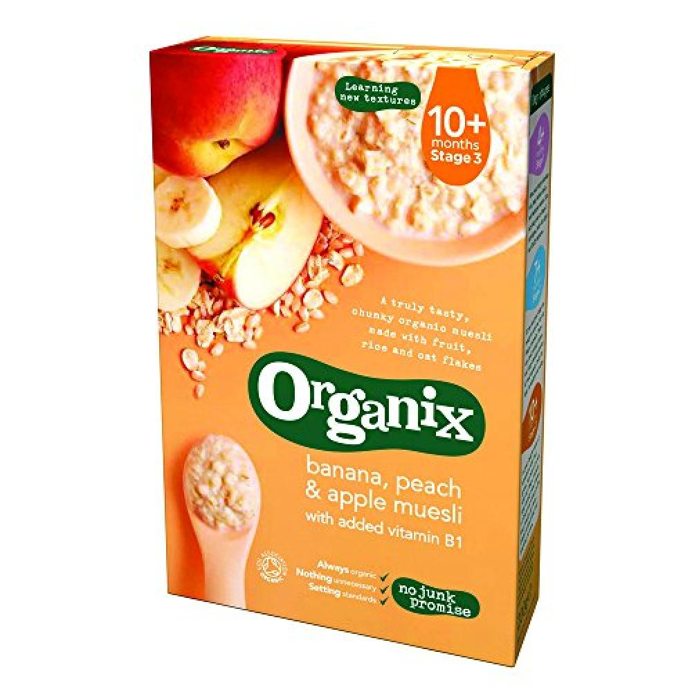 Organix Banana Peach and Apple Muesli 200g