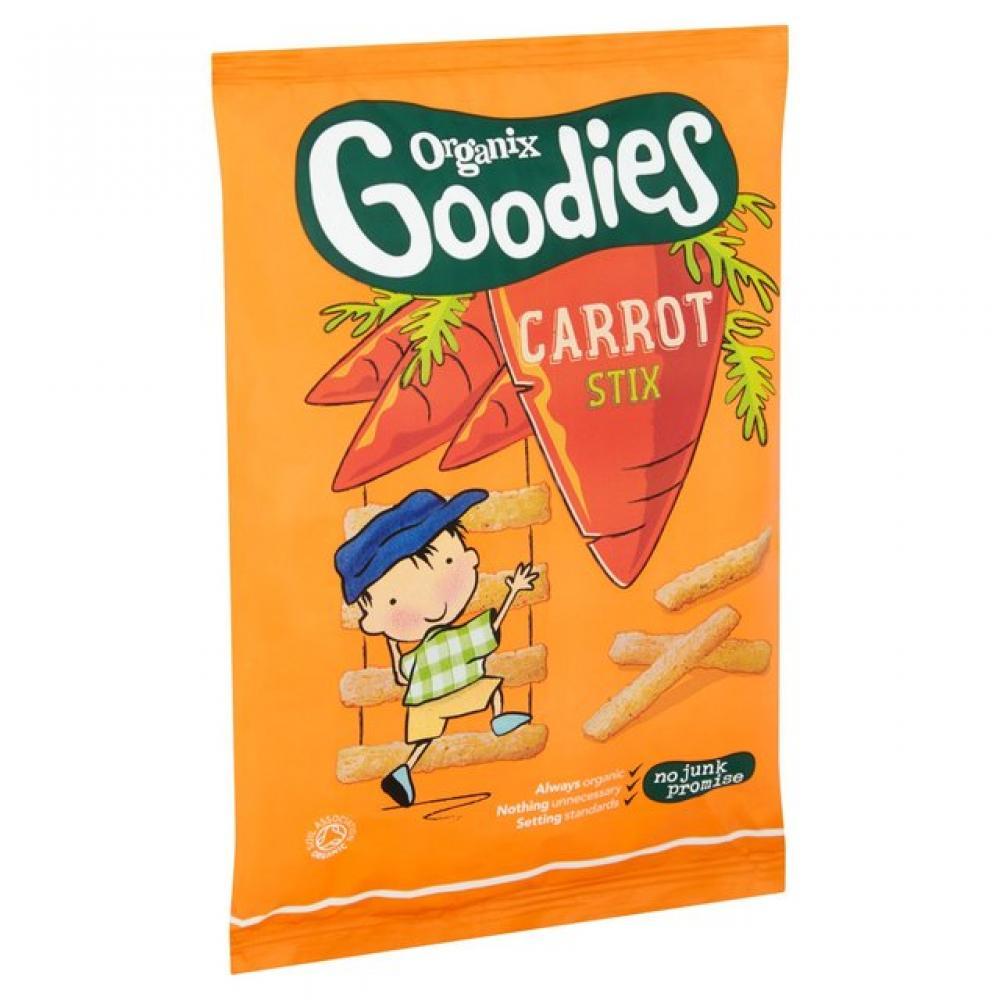 Organix Goodies Organic Carrot Stix 12 Months Plus 15g