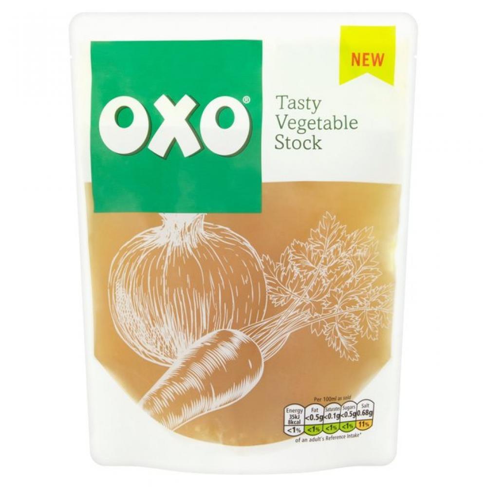 Oxo Tasty Vegetable Stock 320ml