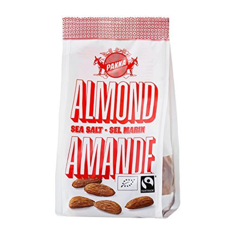 Pakka Roasted Almonds with Sea Salt 100g