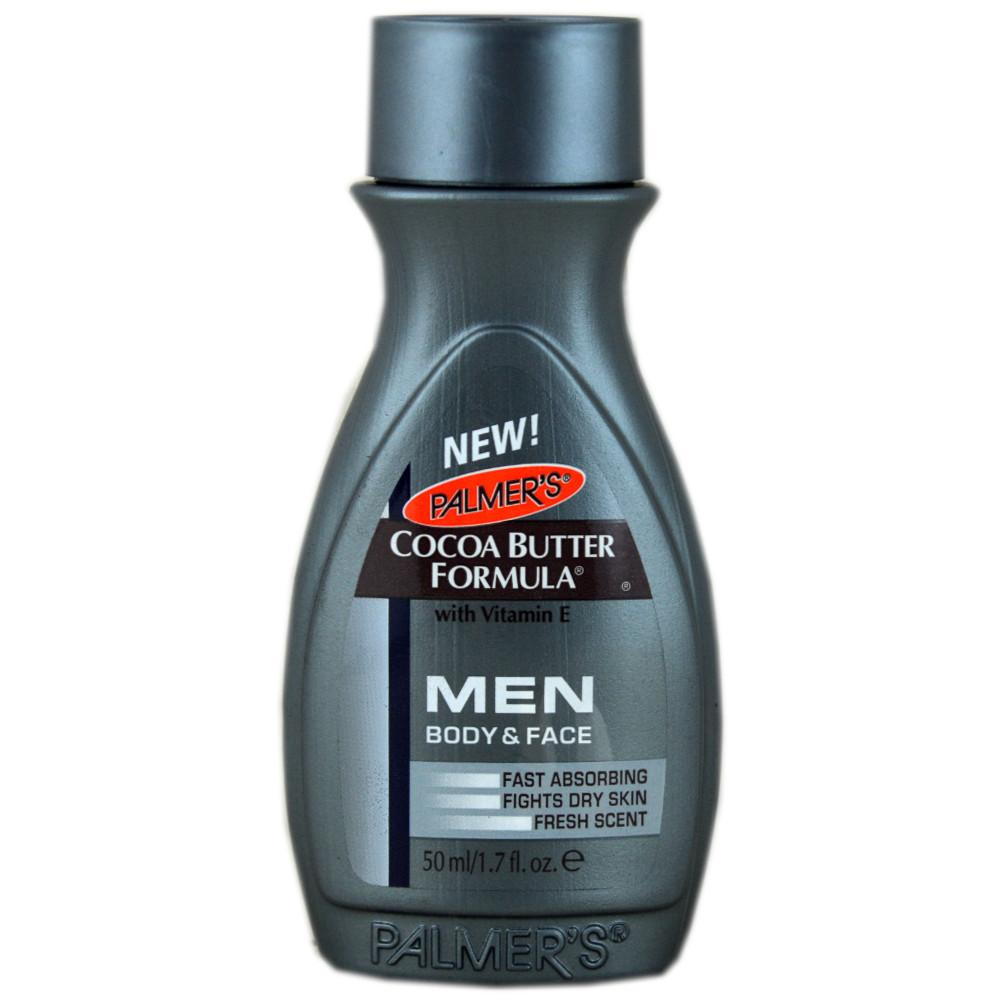 Palmers Cocoa Butter Formula Mens Lotion Body and Face 50ml 50ml