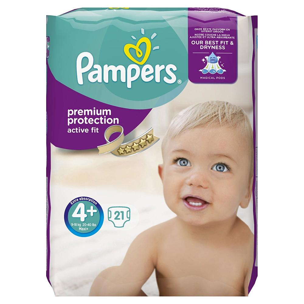 Pampers Active Fit Size 4 pack of 21