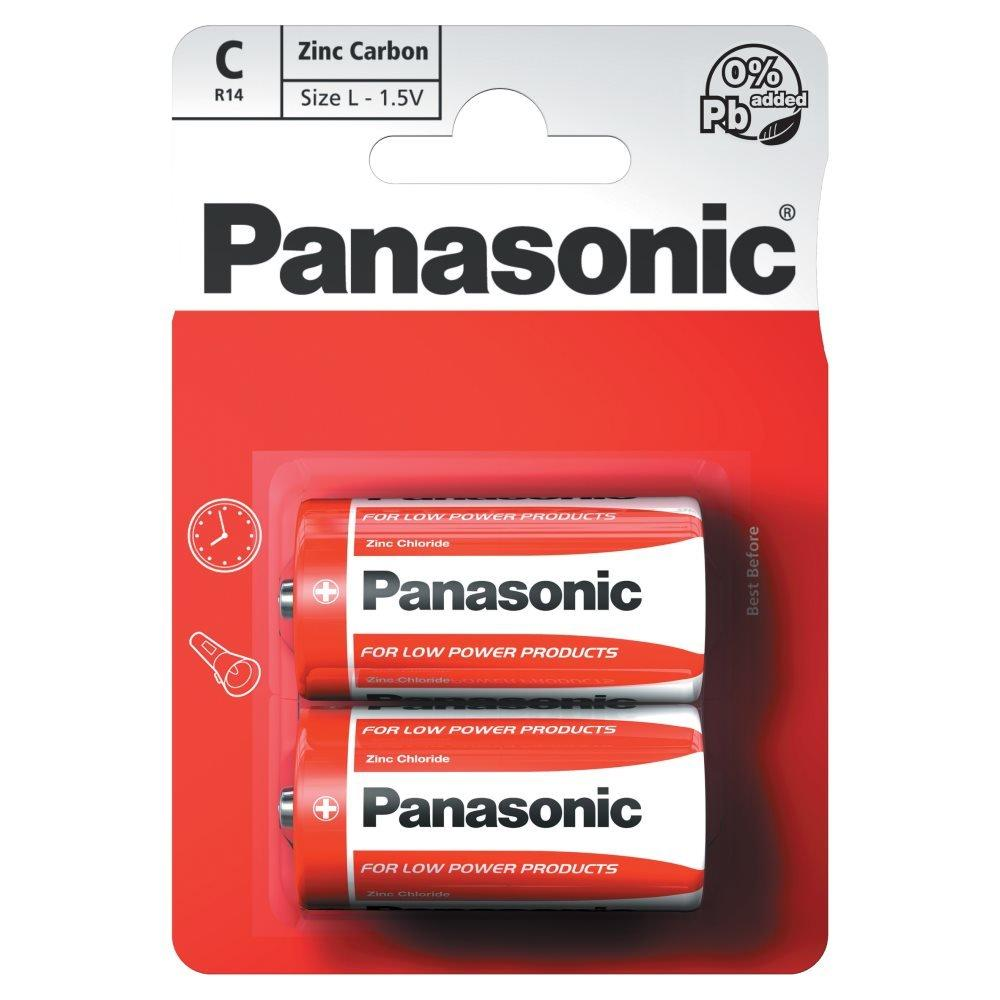 Panasonic C Batteries Twin Pack