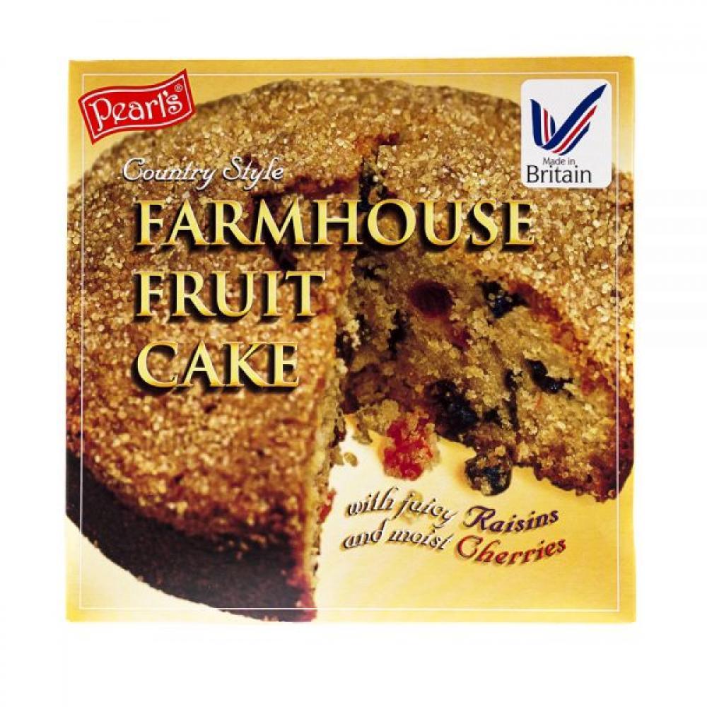 Pearls Farmhouse Fruit Cake 325g