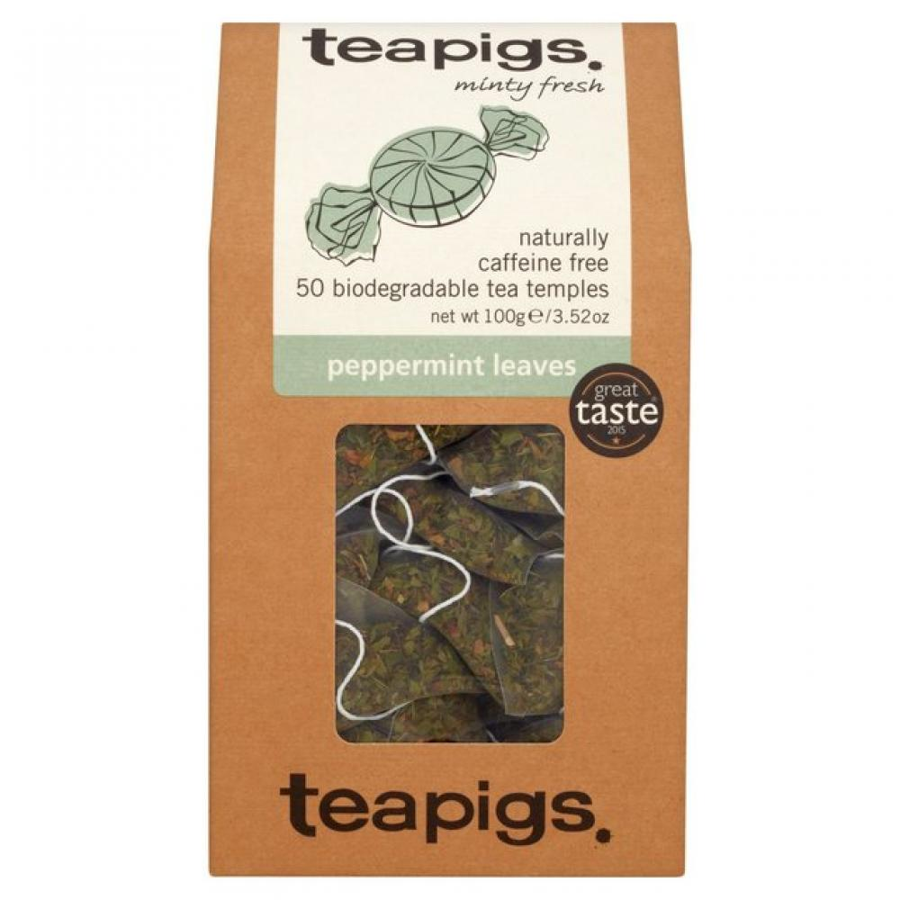 Teapigs Peppermint Leaves 100g 50 Bags
