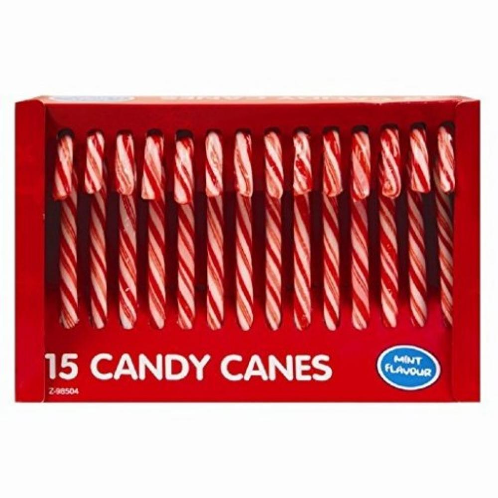 Perfectly Good 15 Candy Canes Mint Flavour