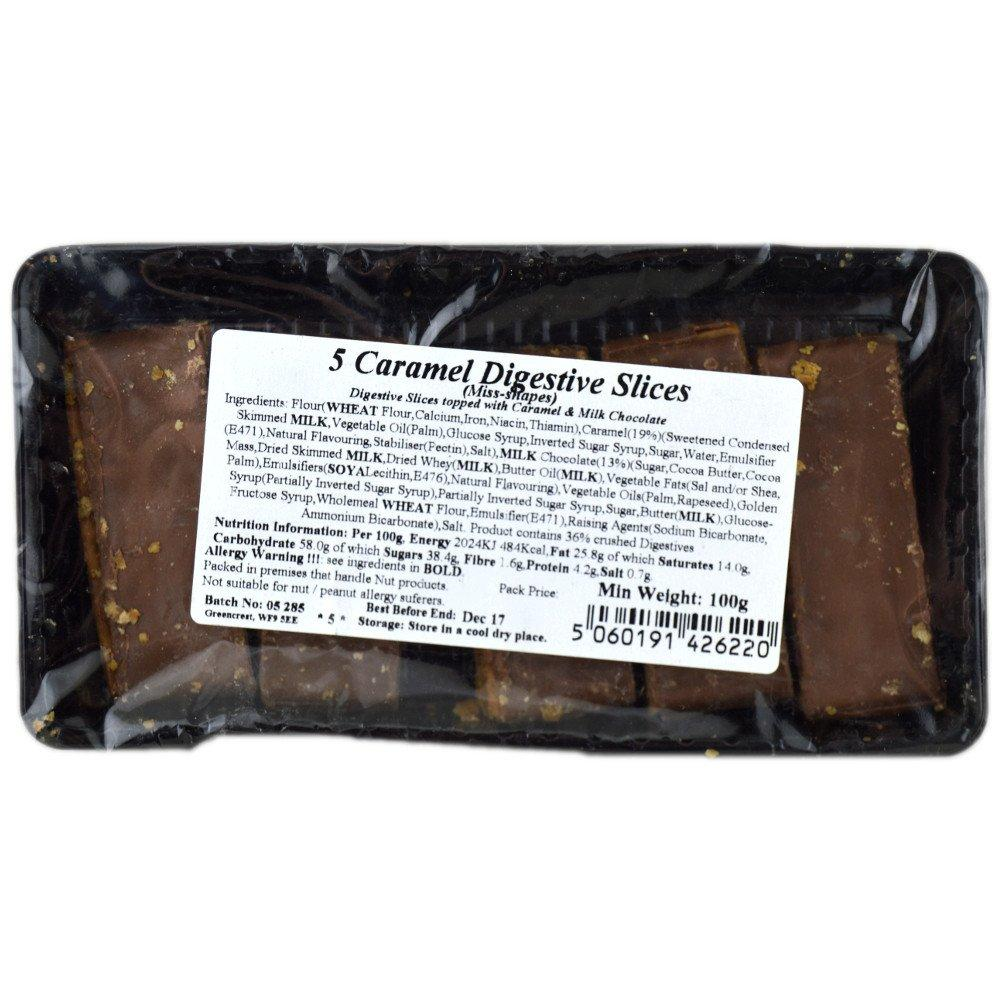 Perfectly Good Caramel Digestive Slices 100g