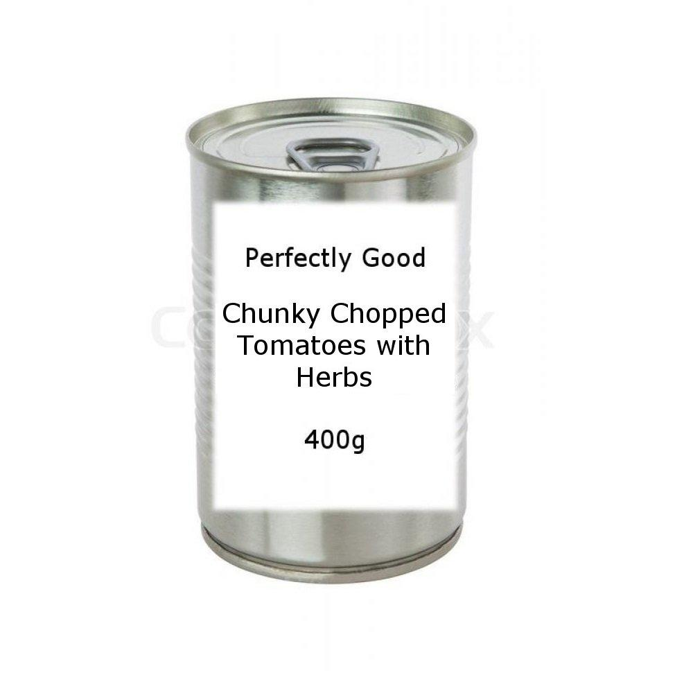 Perfectly Good Chunky Chopped Tomatoes with Herbs 400g