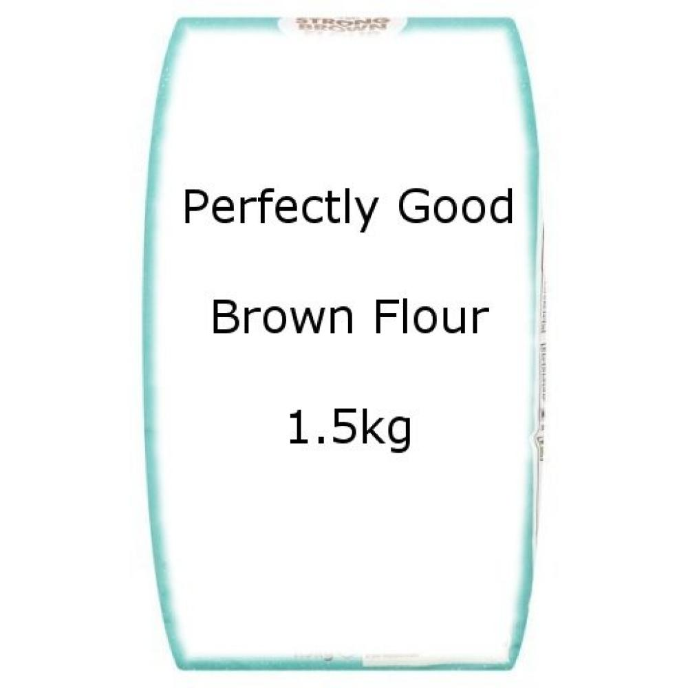 Perfectly Good Brown Flour 1.5kg 1.5kg 15kg 15kg