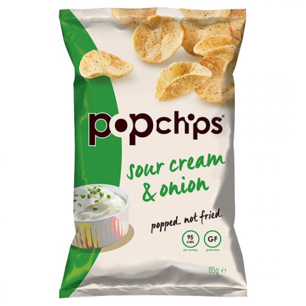 Popchips Sour Cream and Onion 85g