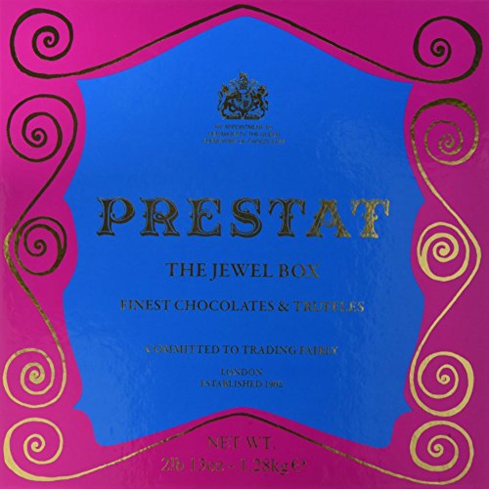 Prestat Finest Chocolates and Truffles in The Jewel Box 1.28Kg