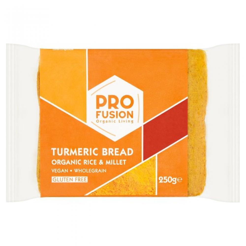 Profusion Gluten Free Organic Turmeric Rice Bread 250g