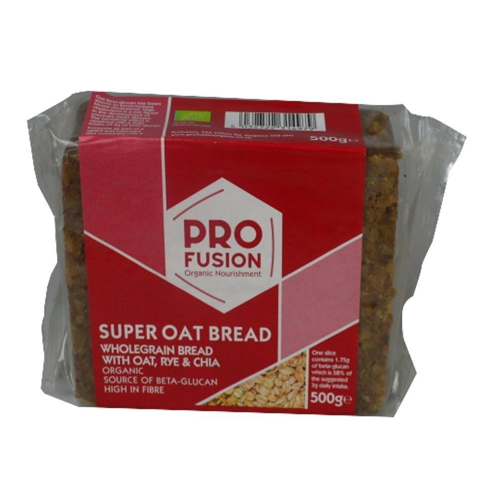 Profusion Super Oat Bread Rye and Chia 500g