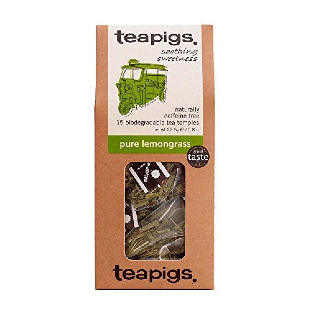 Teapigs Pure Lemongrass Tea 15 Teabags