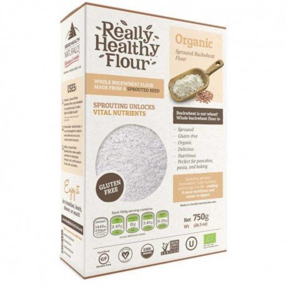 Really Healthy Flour Organic Buckwheat Flour 750g