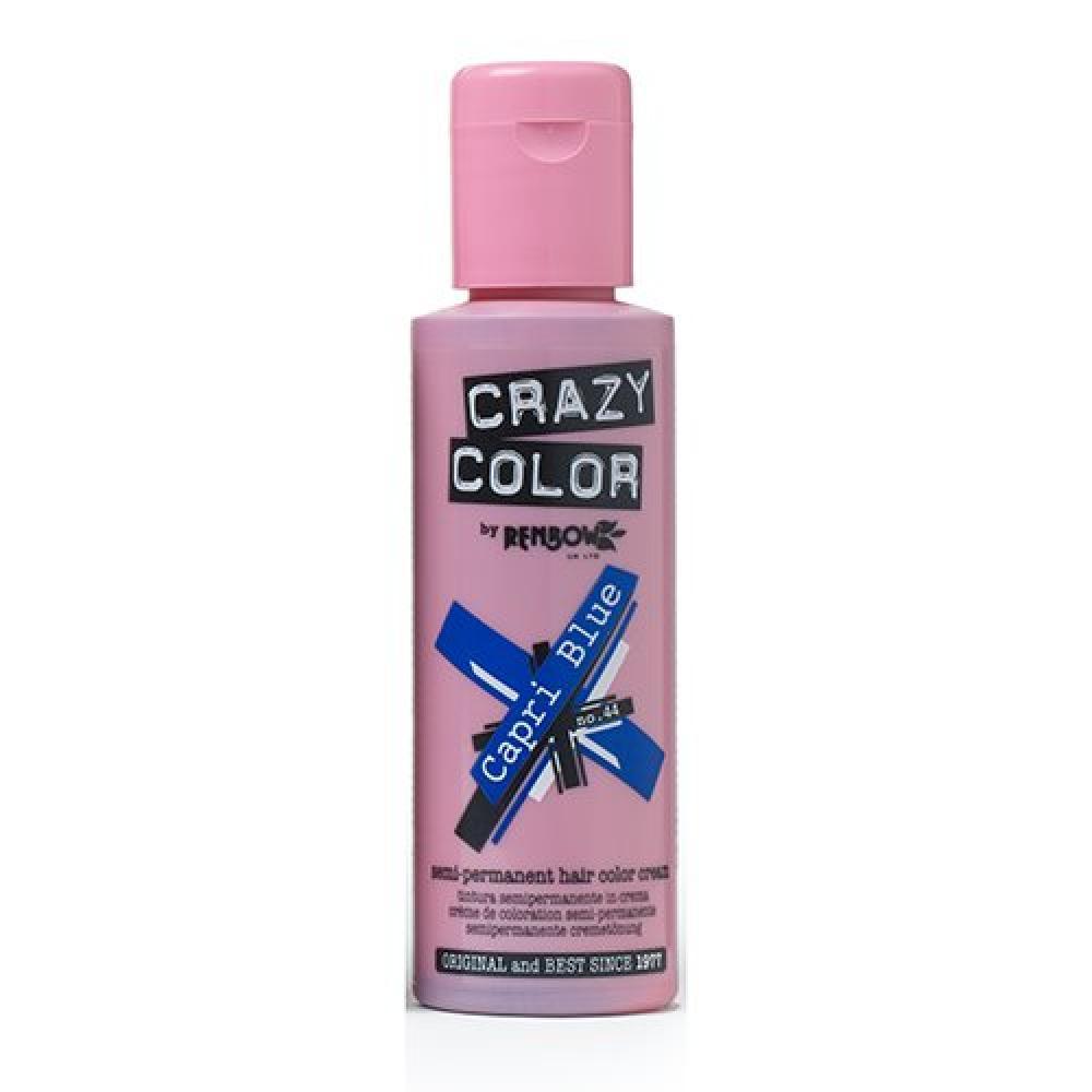 Renbow Crazy colore colorazione Semipermanente 44-Capri Blue 100ml