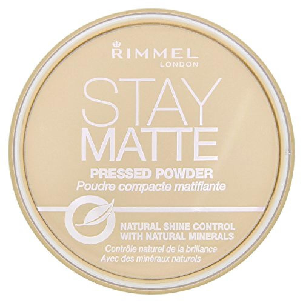 Rimmel Stay Matte Pressed Powder 14 g - Transparent