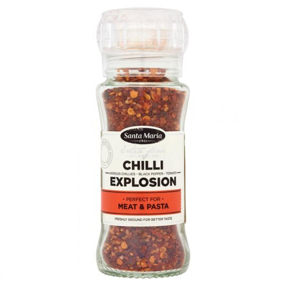 Santa Maria Chilli Explosion Grinder 80g