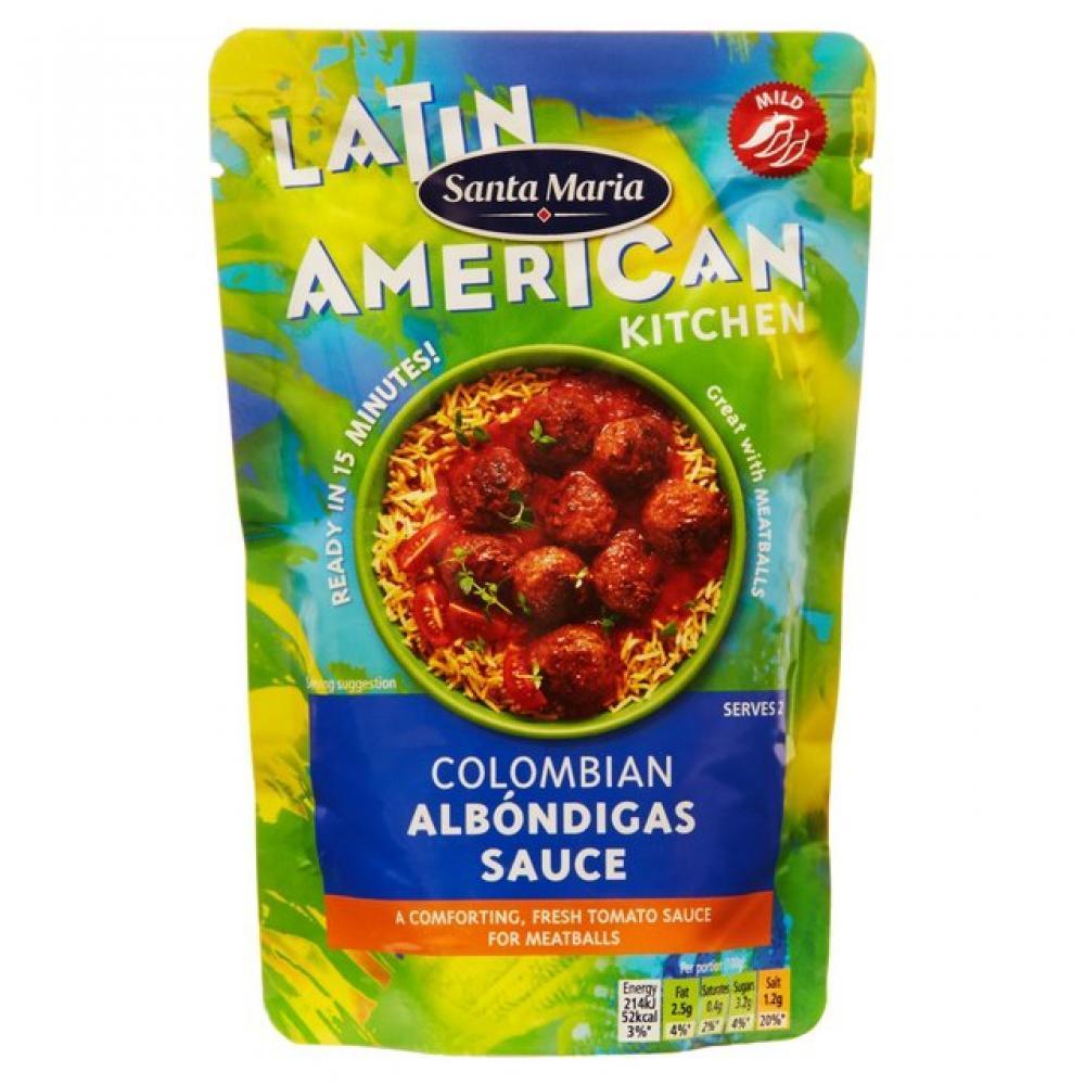 Santa Maria Colombian Albondigas Sauce 200g