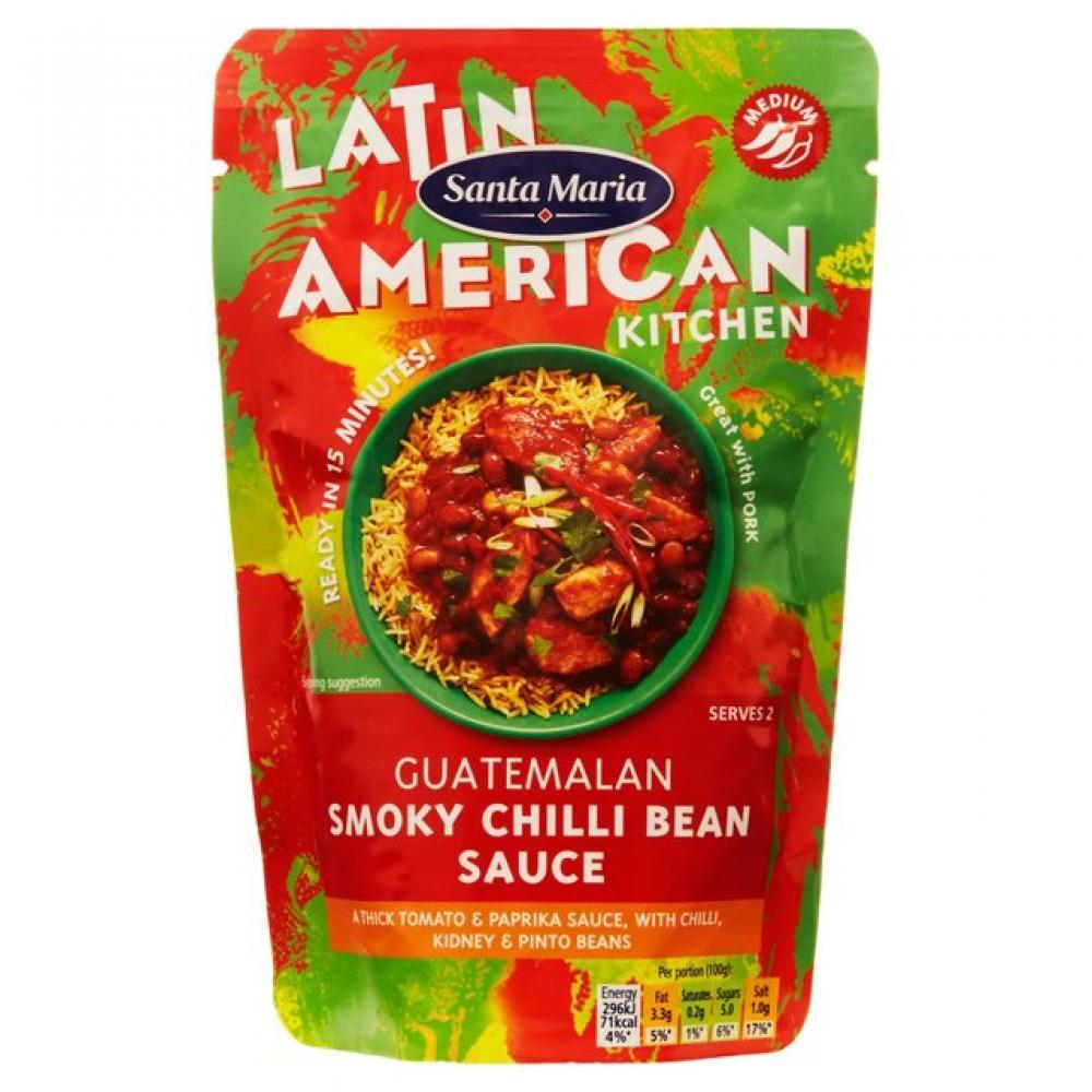 Santa Maria Guatemalan Smoky Chilli Bean Sauce 200g
