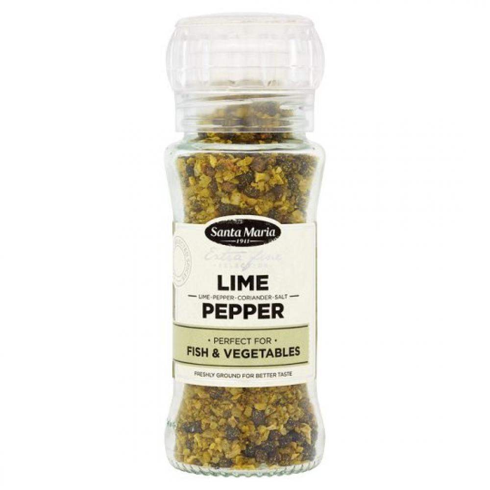 Santa Maria Lime Pepper Grinder 90g