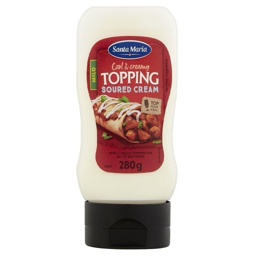 Santa Maria Soured Cream Topping 280g